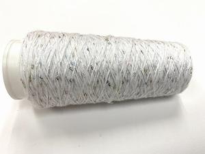 Coton Paillette  super colors WIT BLANC  150 meter/cone