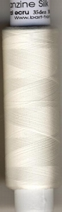 Organza  seide 35 Den /gekocht (poliert)  1000 meter/cone