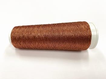 Hautecouture Fine Japan GIMP metaloïde 0,1mm COPPER  250 meter/cone