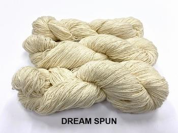 dream spun merino cotton,  orenburg shetland TWIST!!!  +-250gr +1000mt