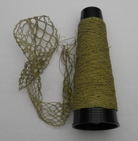 Micro glas Bead thread very fine  = 60/1 Nec goldcolour 50 meter/cone