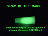 Phosphor thread / glow in the dark   50/2 Nec  400 meter