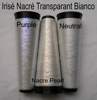 3 colors Irisrende Nacré Transparante thread 3 cones