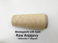 Madagashi silk type Raw Anjajavy 1000 meter/cone