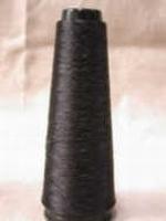 Grenadine Zijde ongekookt Zwart   48den  = 220/2 Nec 1000 meter/cone
