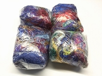 multicolored argentia SILK fibers  100gram  100 gram
