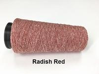 Bourette de Luxe zijde 20 Nm Radish Red 500 meter/cone