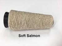 Bourette de Luxe zijde 20 Nm Soft Salmon 500 meter/cone