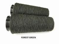 Bourette de Luxe zijde 20 Nm Forest Green 500 meter/cone