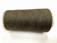SFine spun orenburg color oakaplle brown green +-85gr 2200mt