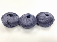 tubular cashmere  color washed indigo +-35gr 220met