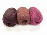 shetland lace fading colors black currants 1 + 1 free  +88 gram  1200m
