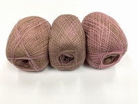 shetland lace fading colors english queen rose beige 1 + 1 f  +88 gram  1200m