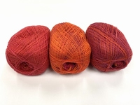 shetland lace fading colors blood orange 1+1gratuite +88 gram  1200m