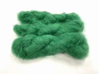 Scottish highland mohair color intens grass green +50gram +100met