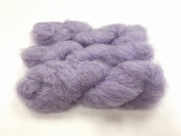 Scottish highland mohair color paeonia doux violet +50gram +100met