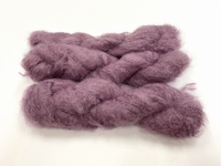 Scottish highland mohair color clematis poudre +50gram +100met