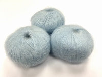dirty children mohair super soft  color aquableu +-35gram = 315m