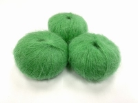 dirty children mohair super soft  color freshgreen +-35gram = 315m