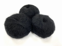dirty children mohair super soft  color intens noir +-35gram = 315m