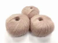 dirty children mohair super soft  color strawberry +-35gram = 315m