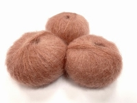 dirty children mohair super soft  color compote strawberry +-35gram = 315m