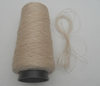 Shantung zijde Brut/naturel  3 draad  690 Den = 16/2 Nec 500 meter/cone