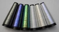 Iriserende draad polyester filament transparant 6 kleuren 6 cones